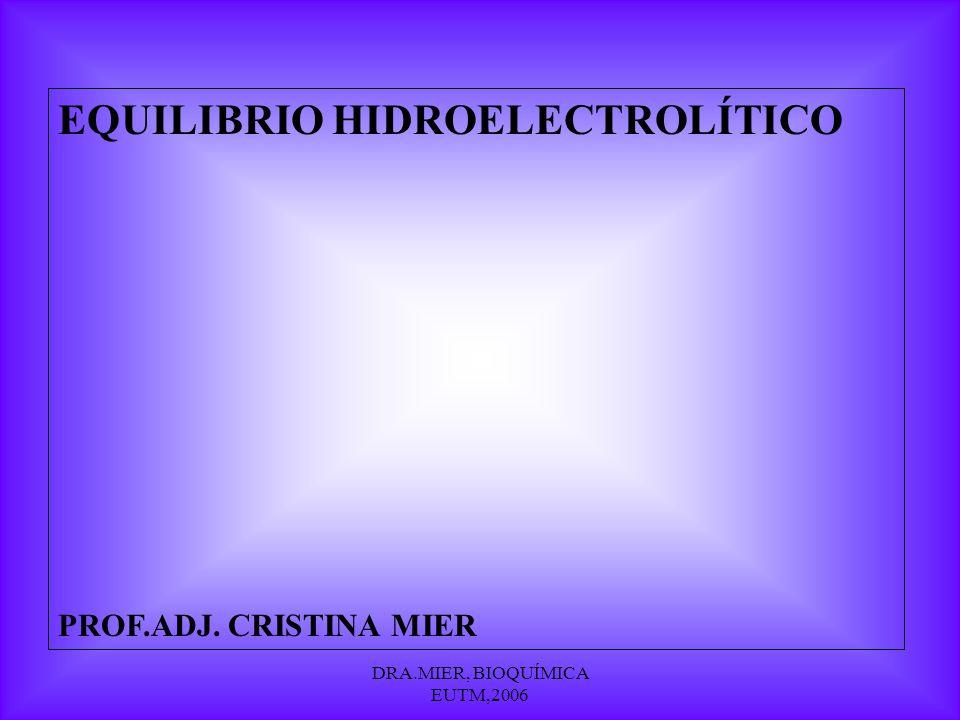 DRA.MIER, BIOQUÍMICA EUTM,2006