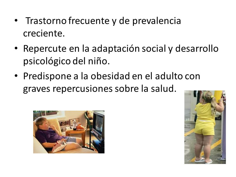 Trastorno frecuente y de prevalencia creciente.