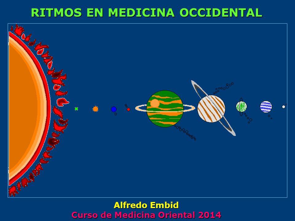 RITMOS EN MEDICINA OCCIDENTAL Curso de Medicina Oriental 2014