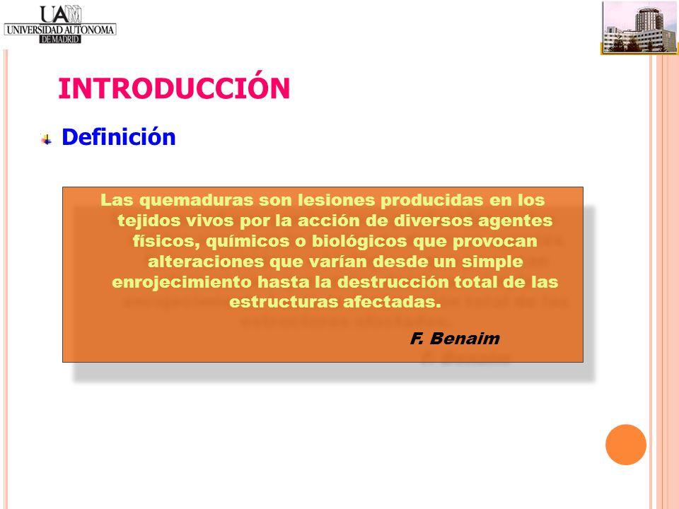 INTRODUCCIÓN Definición F. Benaim