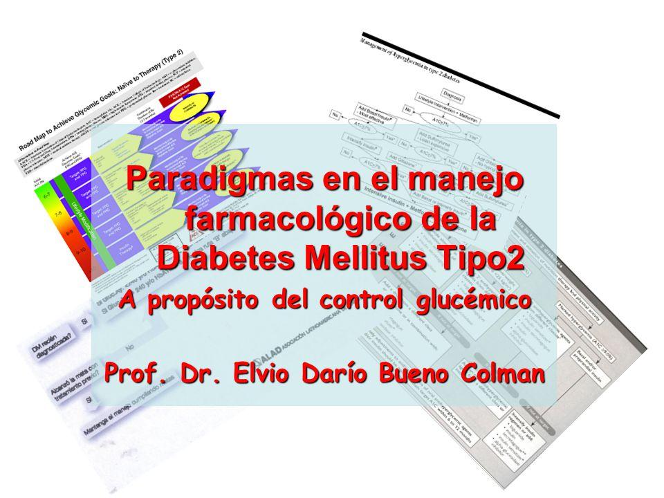 Paradigmas en el manejo farmacológico de la Diabetes Mellitus Tipo2