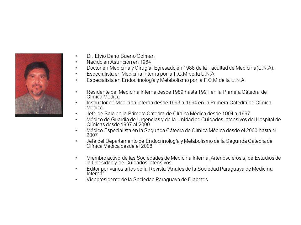 Dr. Elvio Darío Bueno Colman