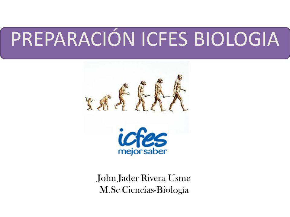 PREPARACIÓN ICFES BIOLOGIA