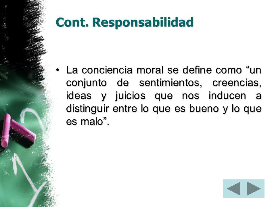 Cont. Responsabilidad