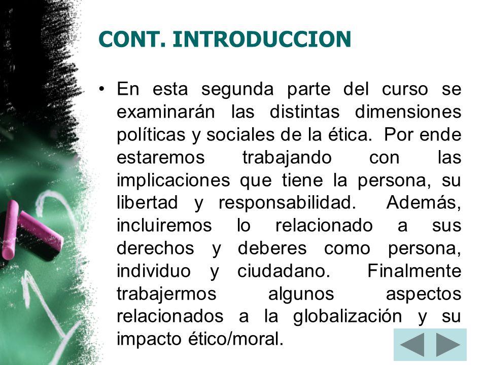 CONT. INTRODUCCION