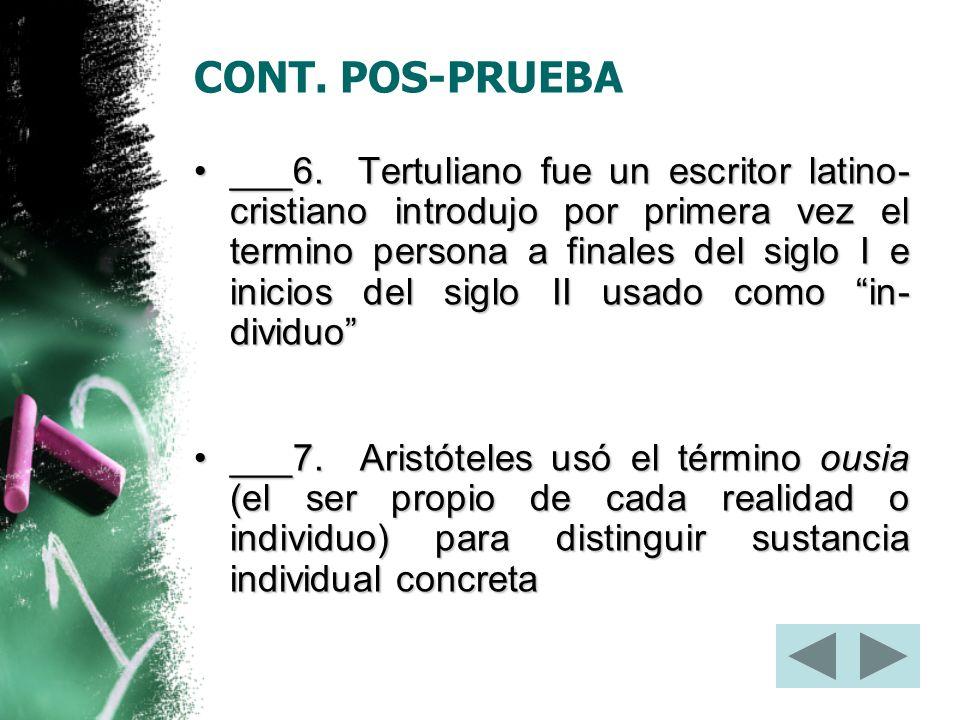 CONT. POS-PRUEBA