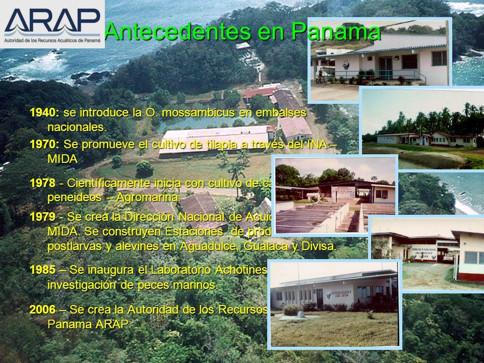 Antecedentes en Panama