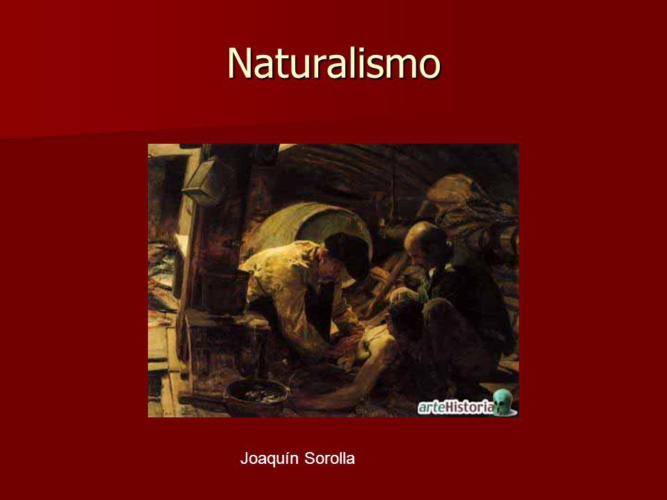 Naturalismo Joaquín Sorolla