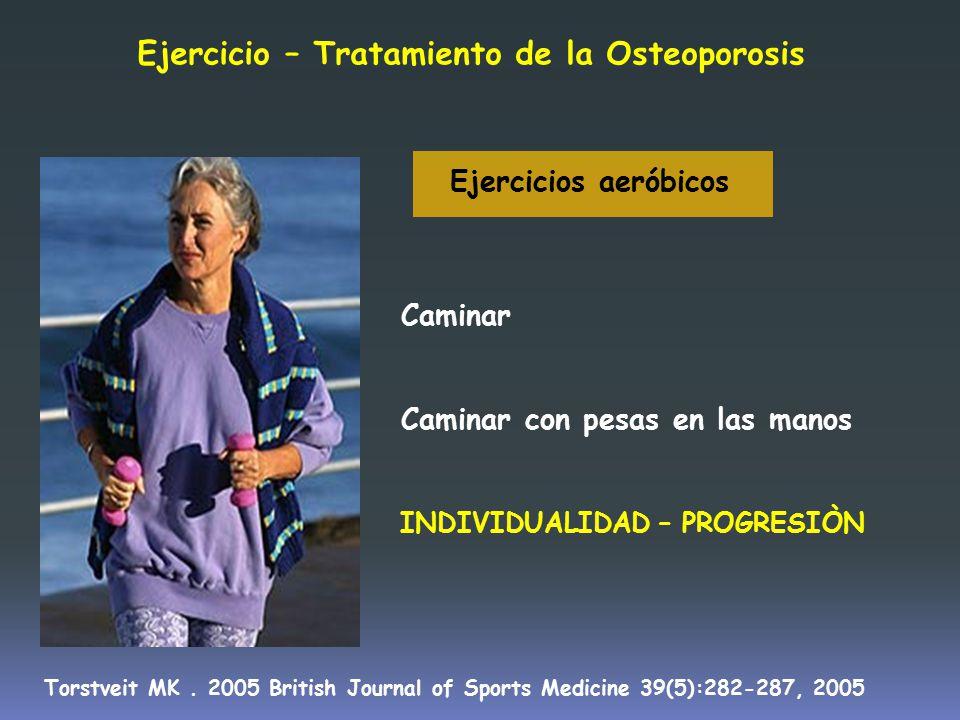 Ejercicio – Tratamiento de la Osteoporosis