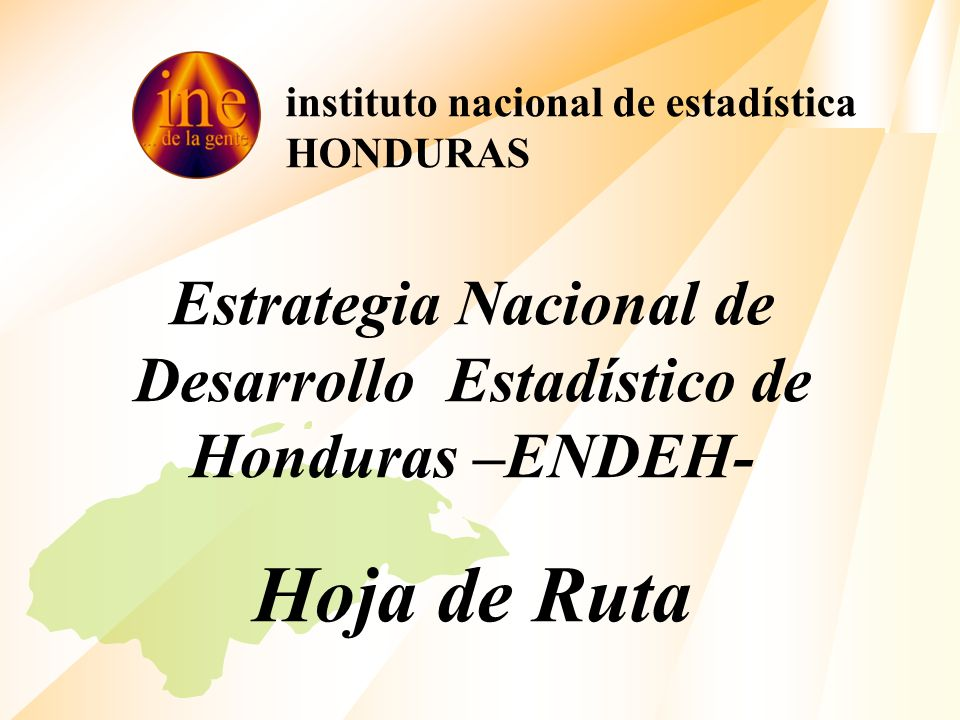 instituto nacional de estadística HONDURAS