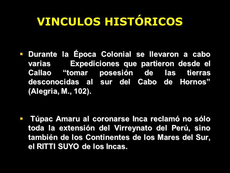 VINCULOS HISTÓRICOS