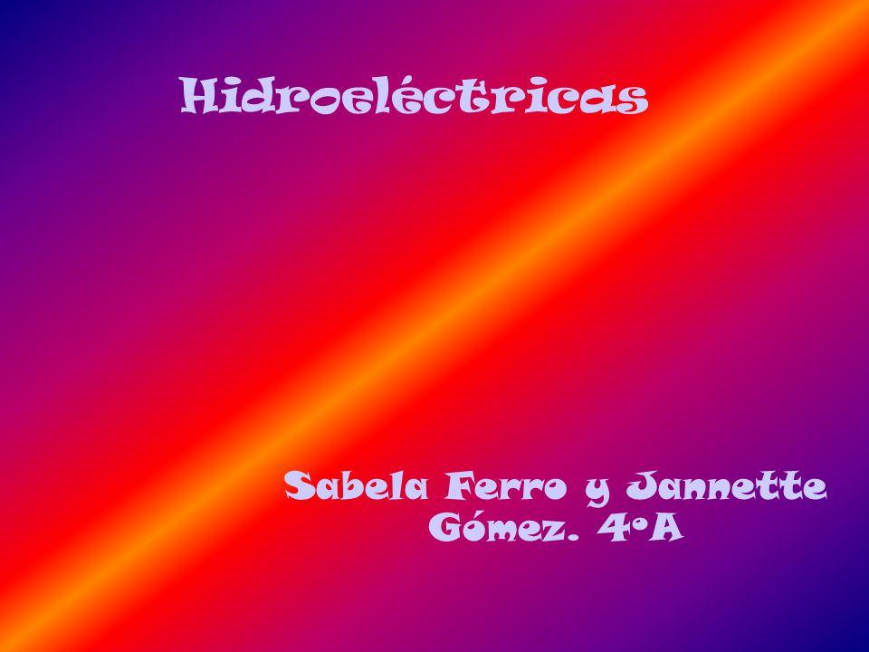 Sabela Ferro y Jannette Gómez. 4ºA