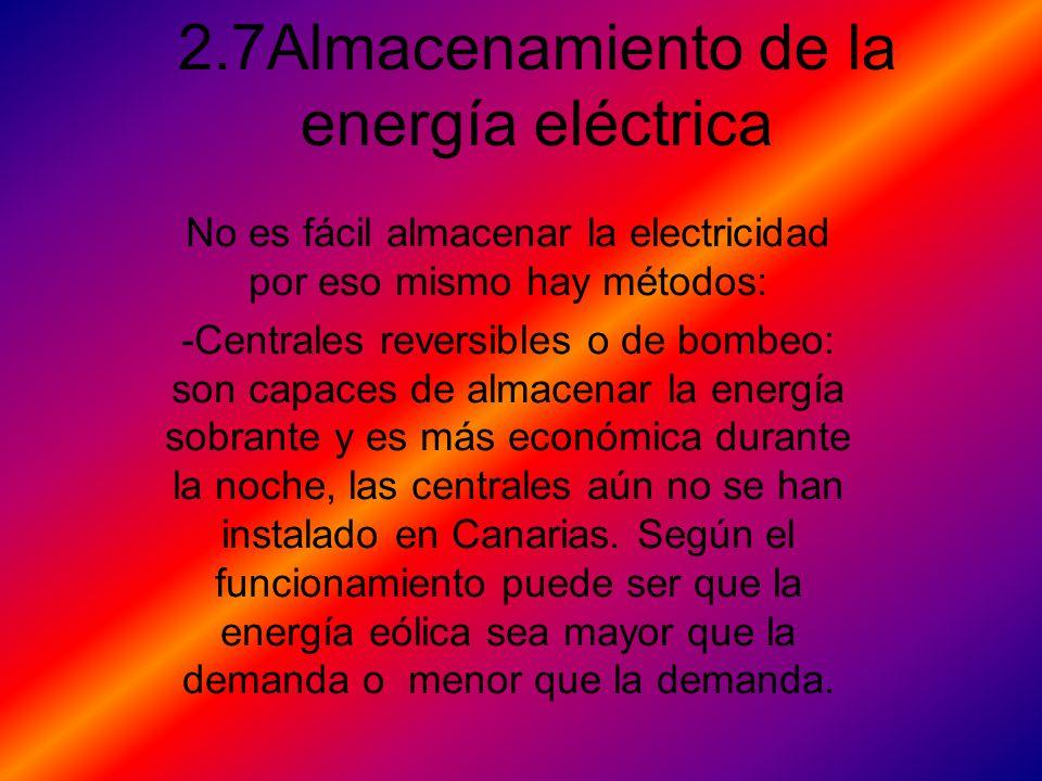2.7Almacenamiento de la energía eléctrica
