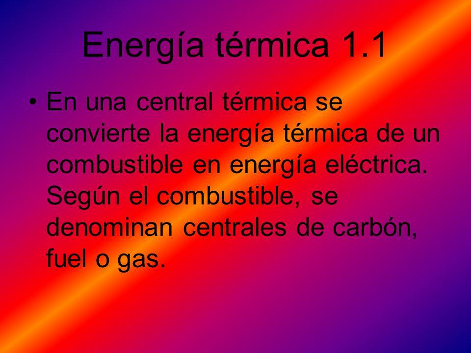 Energía térmica 1.1