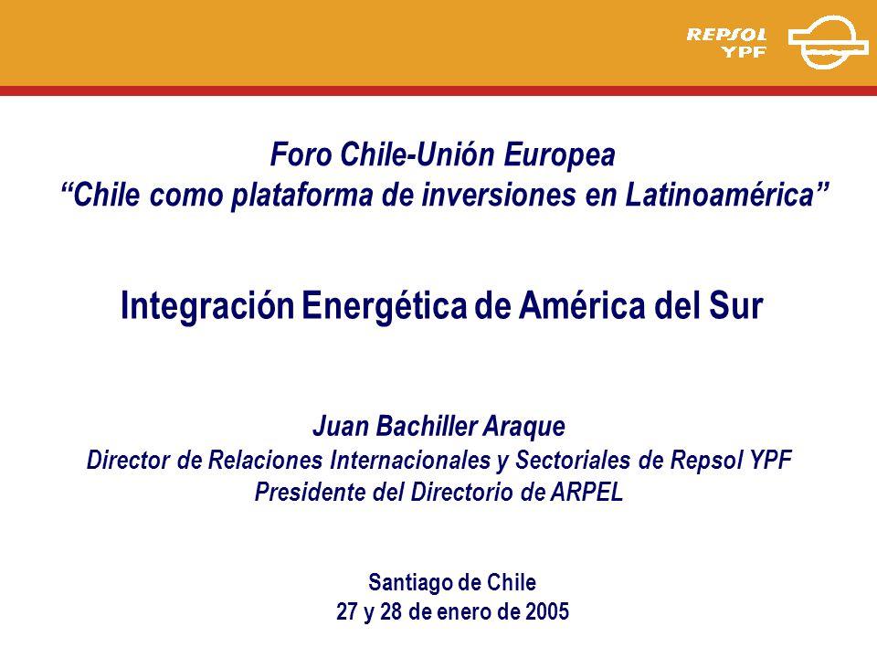 Integración Energética de América del Sur