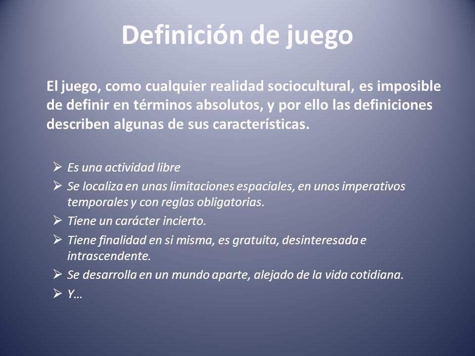Definición de juego