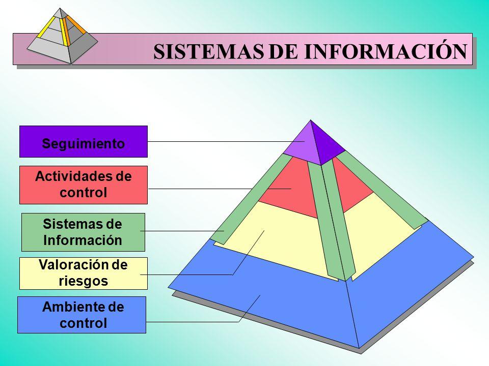 Actividades de control Sistemas de Información