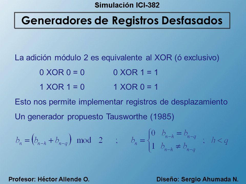Generadores de Registros Desfasados