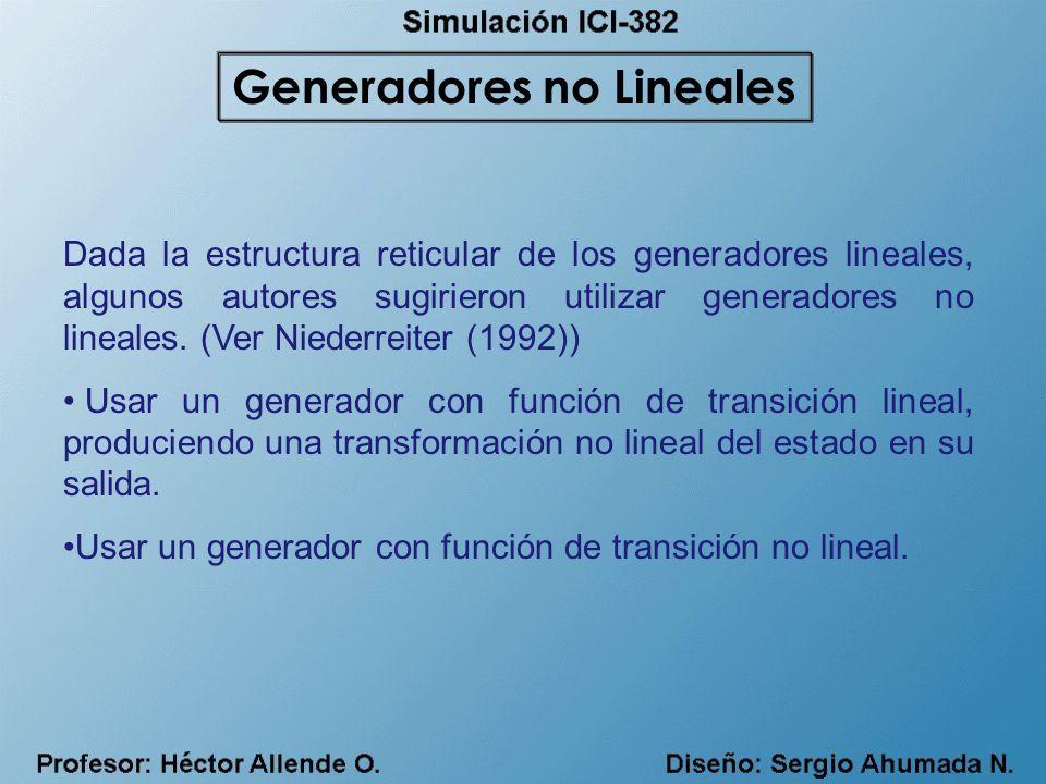 Generadores no Lineales
