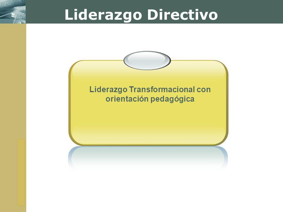 Liderazgo Transformacional con orientación pedagógica