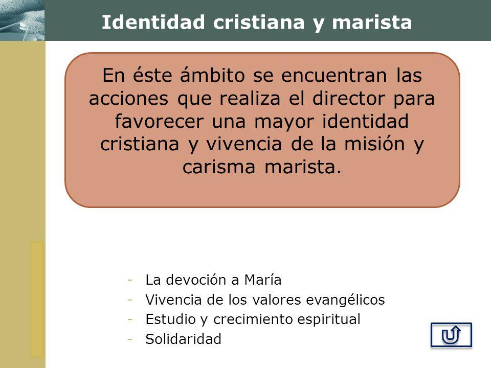 Identidad cristiana y marista