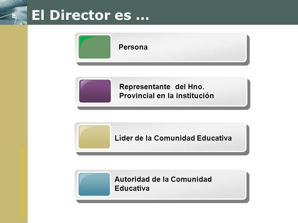 El Director es … Persona