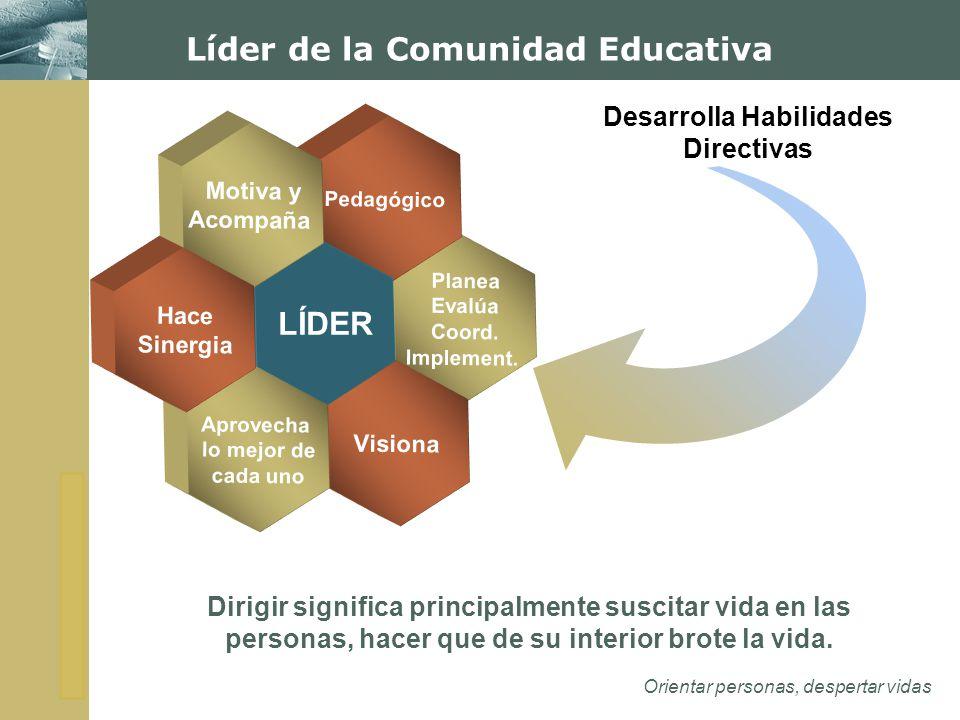 Líder de la Comunidad Educativa