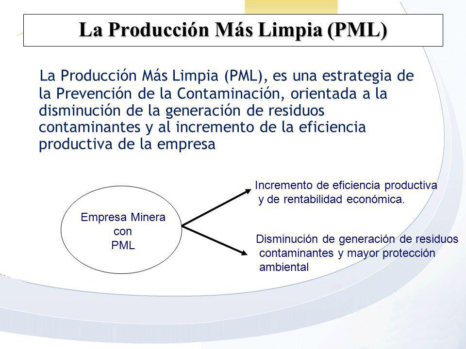 La Producción Más Limpia (PML)