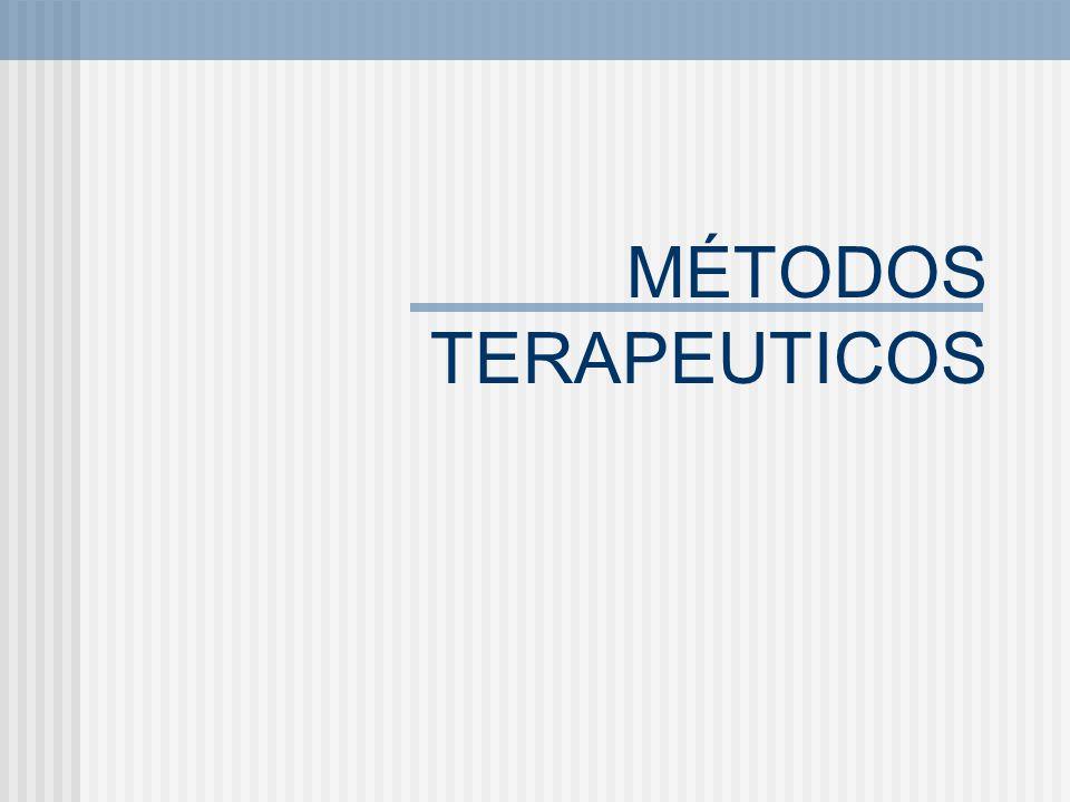 MÉTODOS TERAPEUTICOS