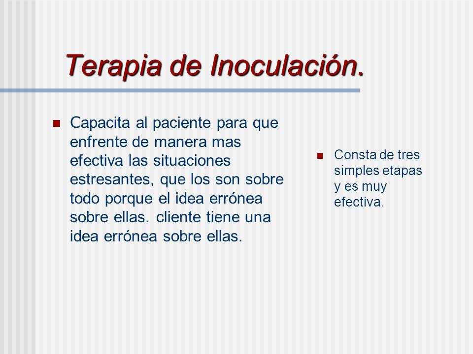 Terapia de Inoculación.