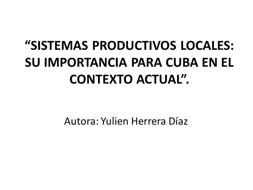 Autora: Yulien Herrera Díaz