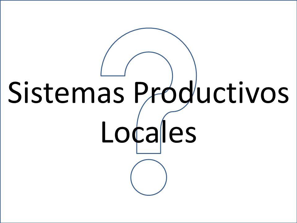 Sistemas Productivos Locales