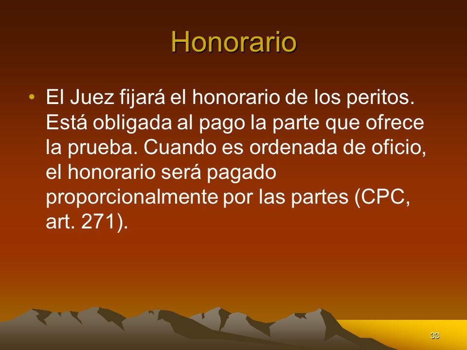 Honorario