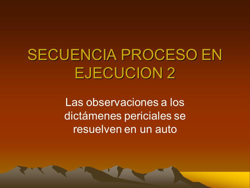 SECUENCIA PROCESO EN EJECUCION 2