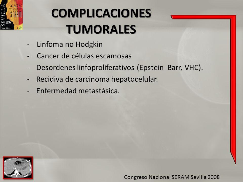 COMPLICACIONES TUMORALES