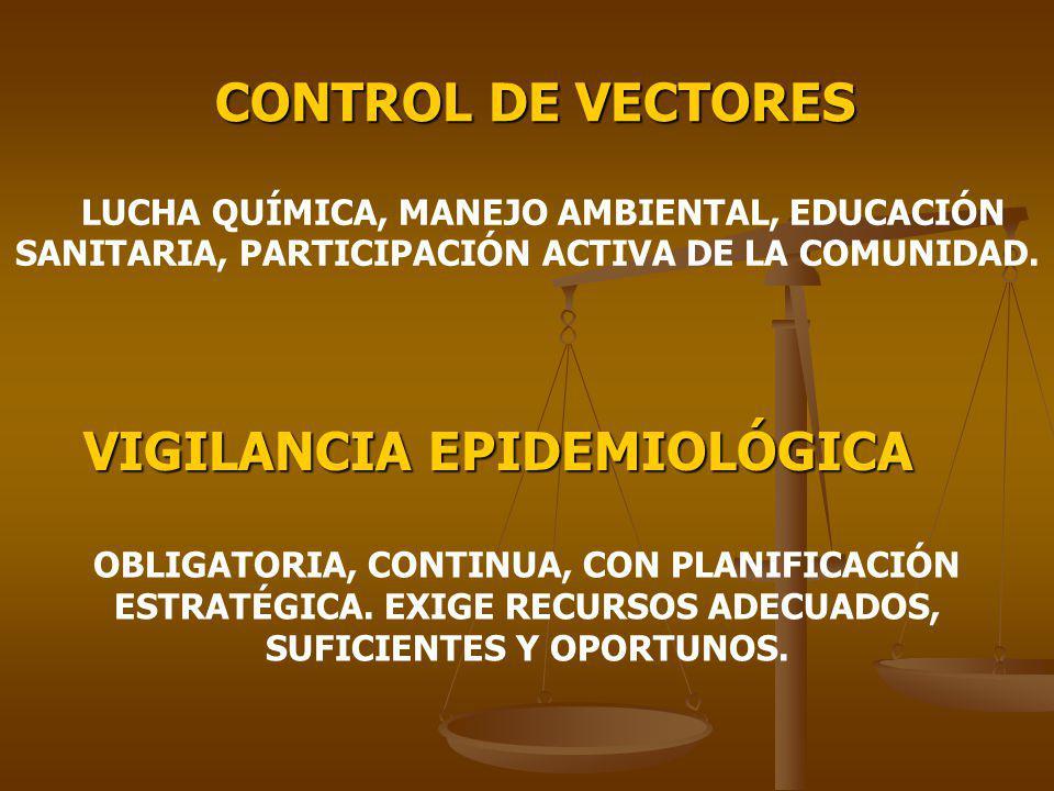 VIGILANCIA EPIDEMIOLÓGICA
