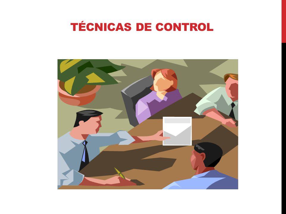 Técnicas DE CONTROL 08 de abril de 2017