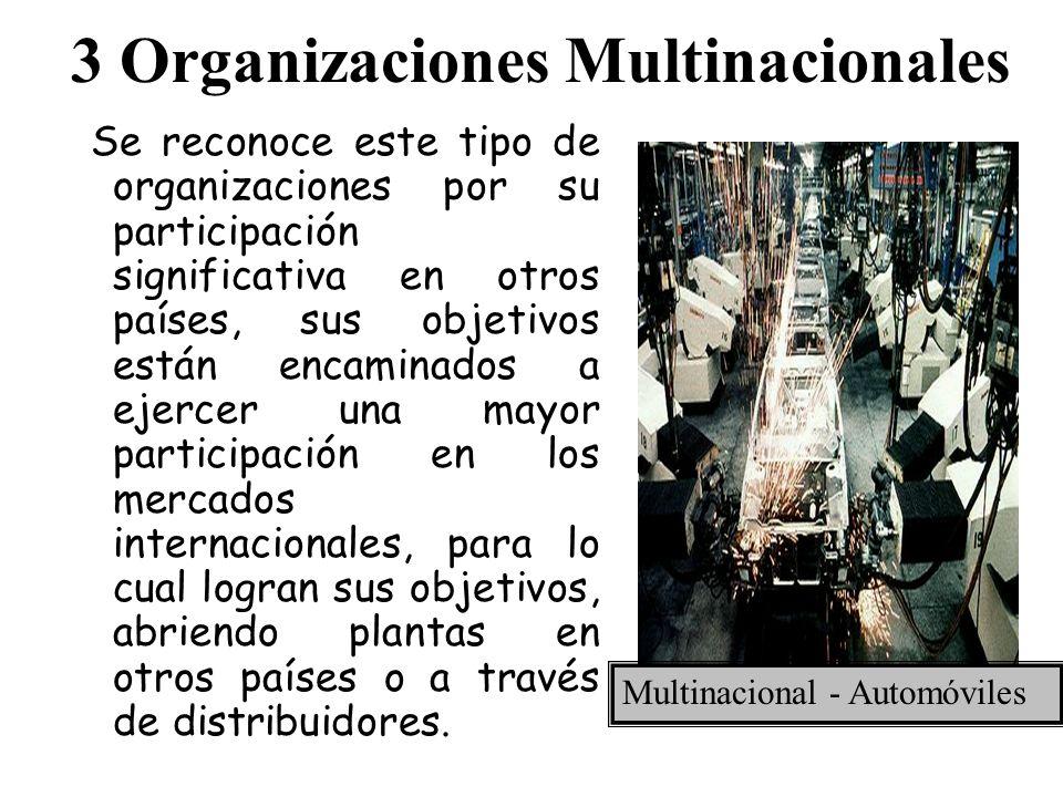 3 Organizaciones Multinacionales
