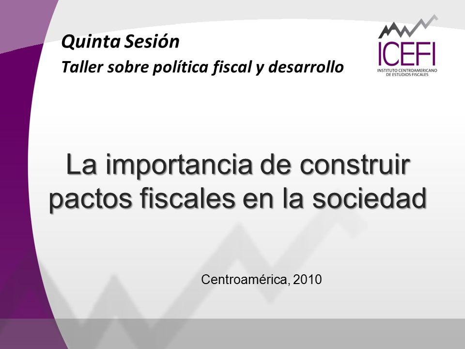La importancia de construir pactos fiscales en la sociedad