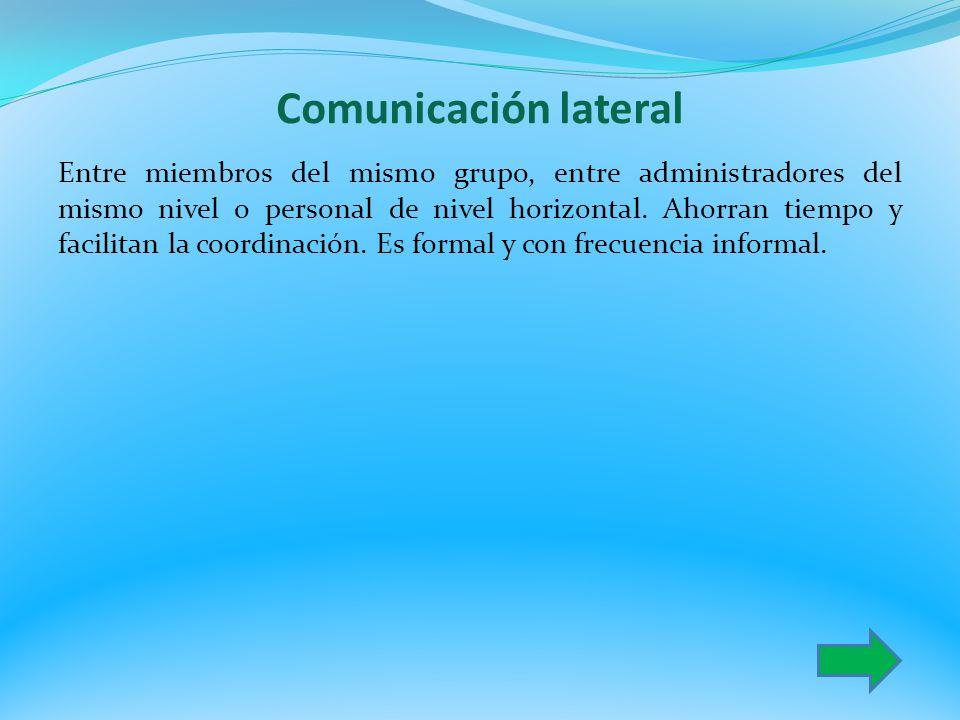 Comunicación lateral