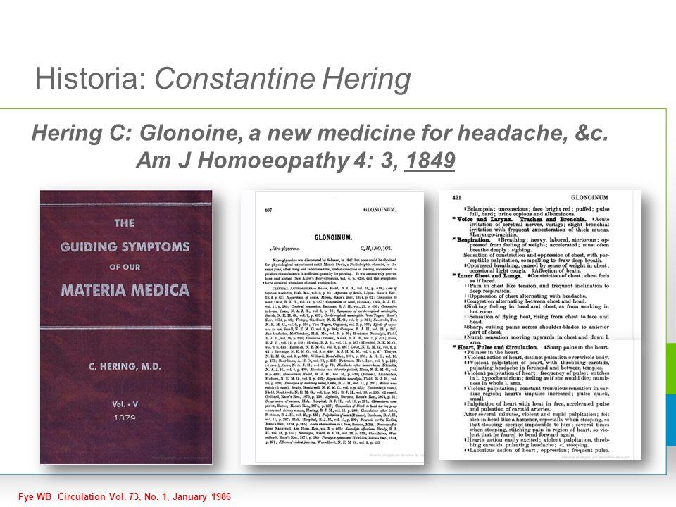 Historia: Constantine Hering