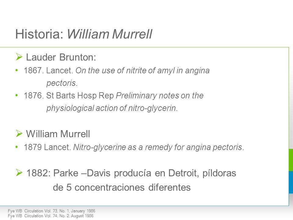 Historia: William Murrell