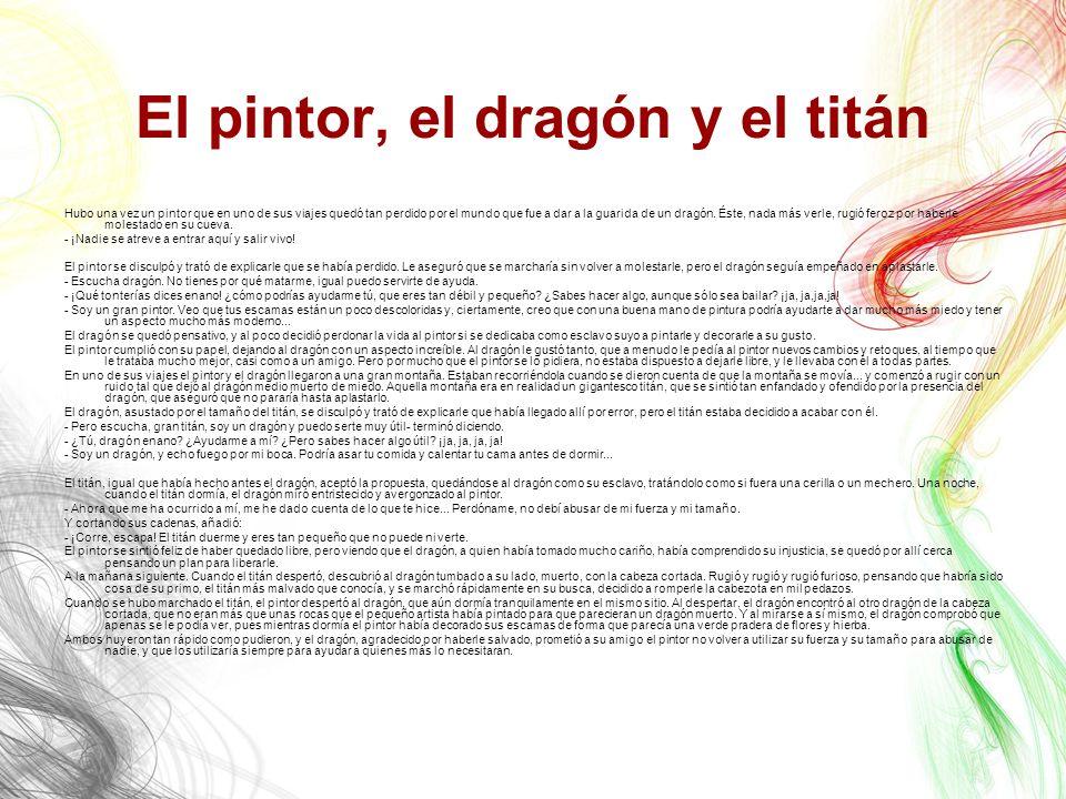 El pintor, el dragón y el titán