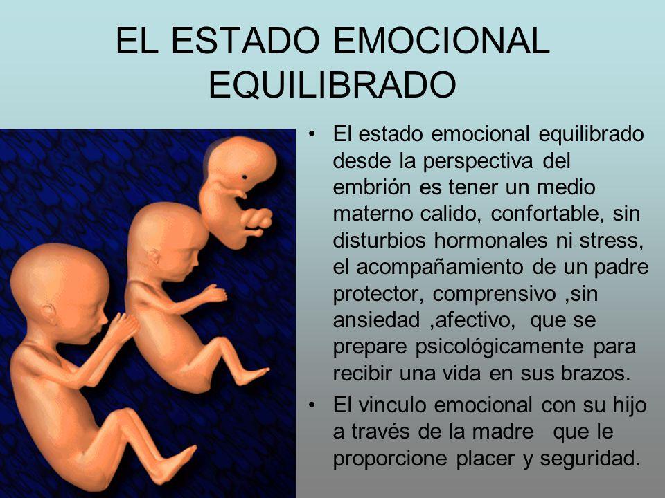 EL ESTADO EMOCIONAL EQUILIBRADO