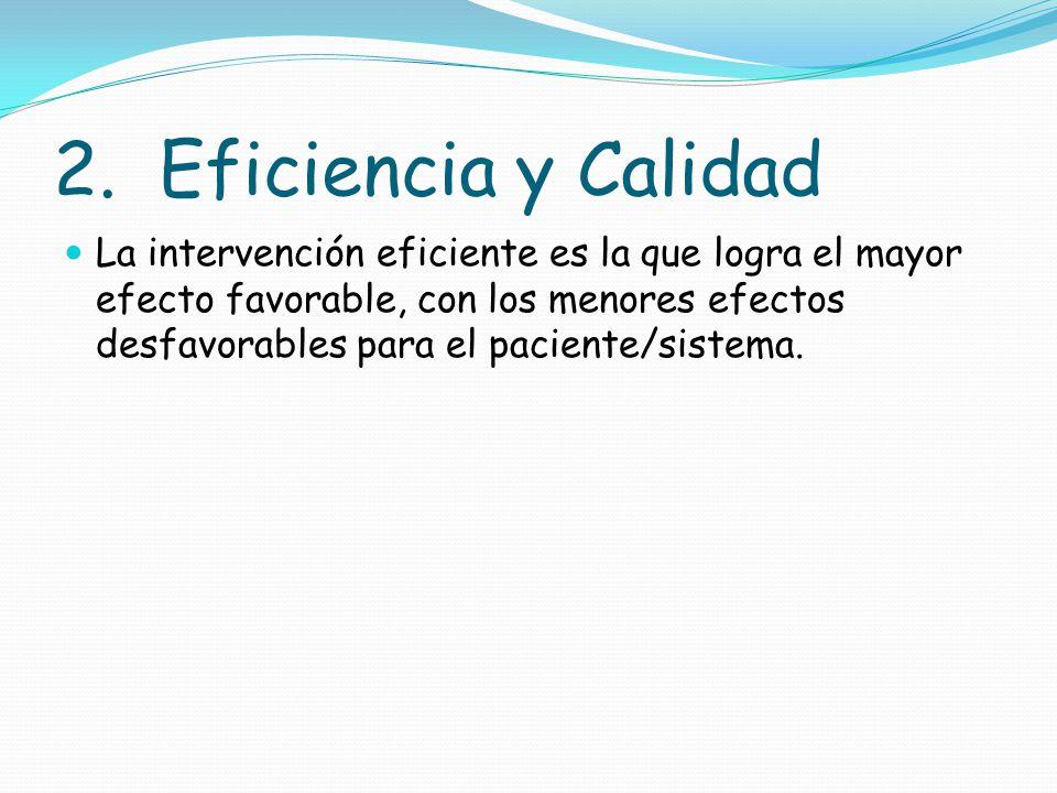 2. Eficiencia y Calidad