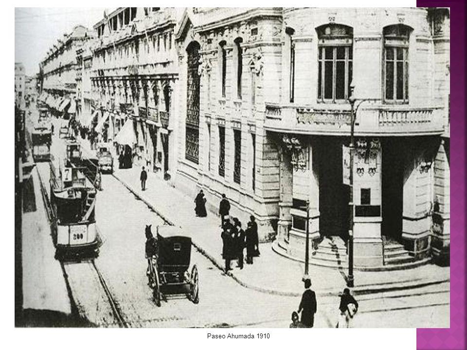 Paseo Ahumada 1910