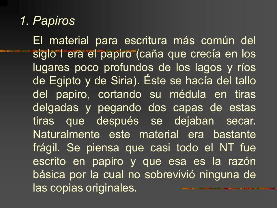 1. Papiros