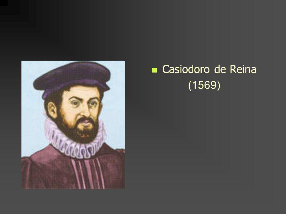 Casiodoro de Reina (1569)