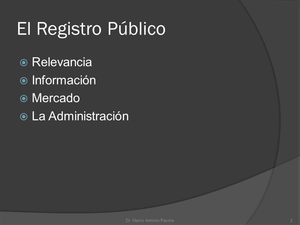 Dr. Marco Antonio Pacora
