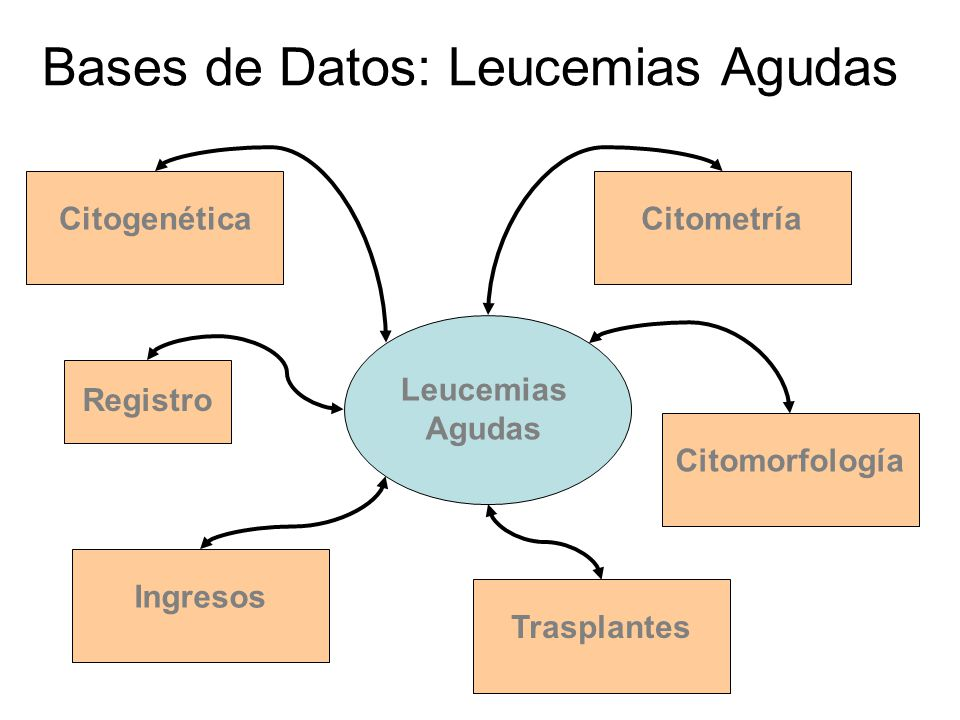 Bases de Datos: Leucemias Agudas